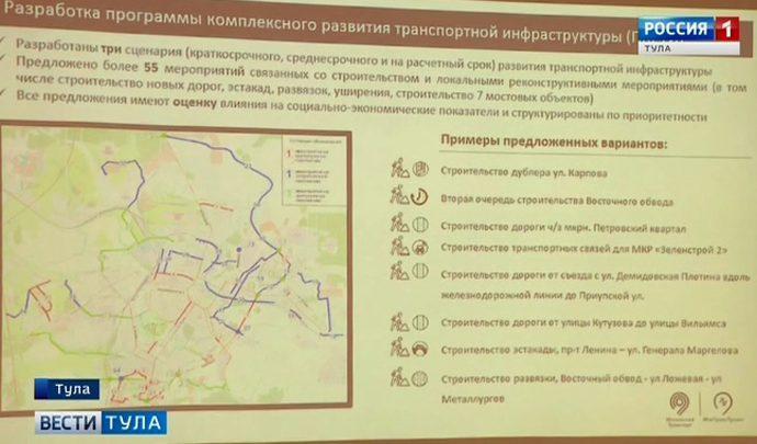 Появятся ли в Туле новые дороги и мосты?