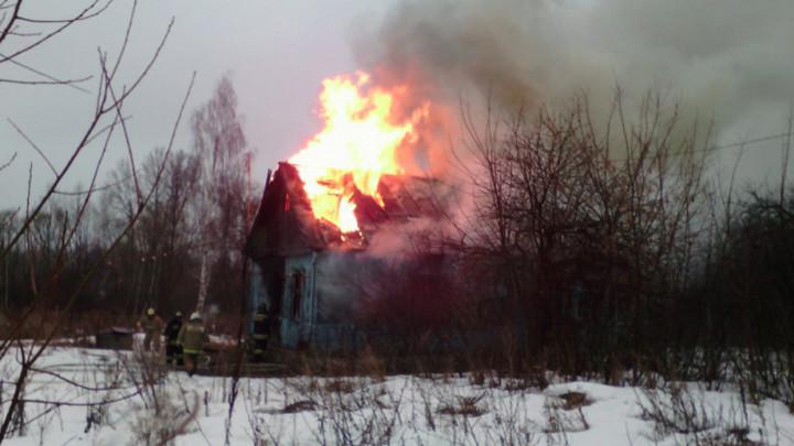 Пожар в Киреевске унес жизнь мужчины