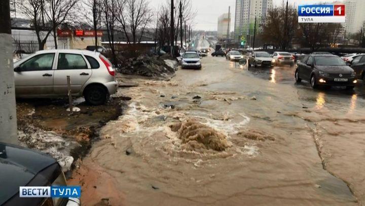 Ряд домов в Пролетарском округе остался без воды