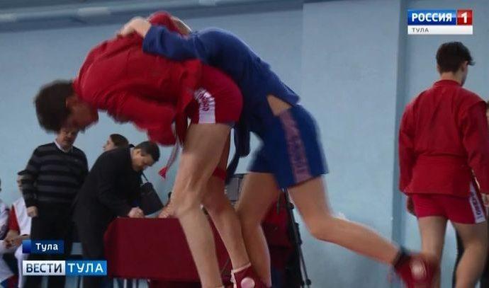 В Туле прошел Всероссийский турнир по самбо среди юношей