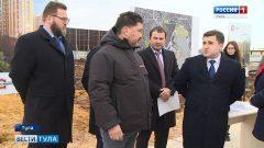Замглавы Минстроя разъяснил в Туле новый формат долевого строительства