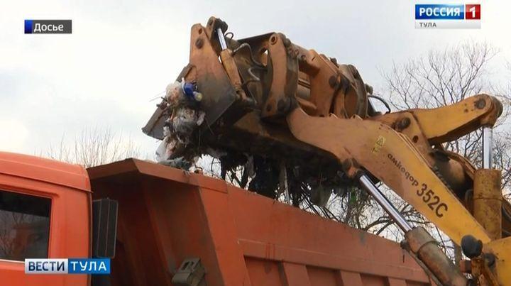В Туле строительный мусор оказался никому не нужен