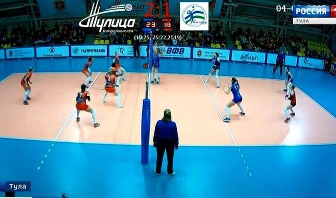 Волейболистки «Тулицы» переиграли уфимский клуб «Самрау-УГНТУ»