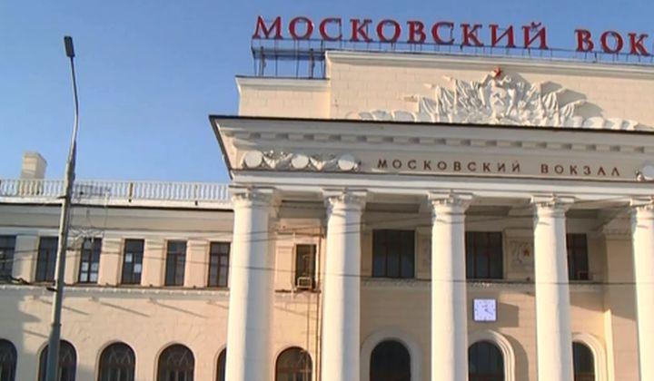 Московский вокзал на час отключит подсветку