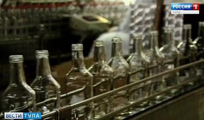 Тульский бюджет пополнится за счет акцизов на спирт