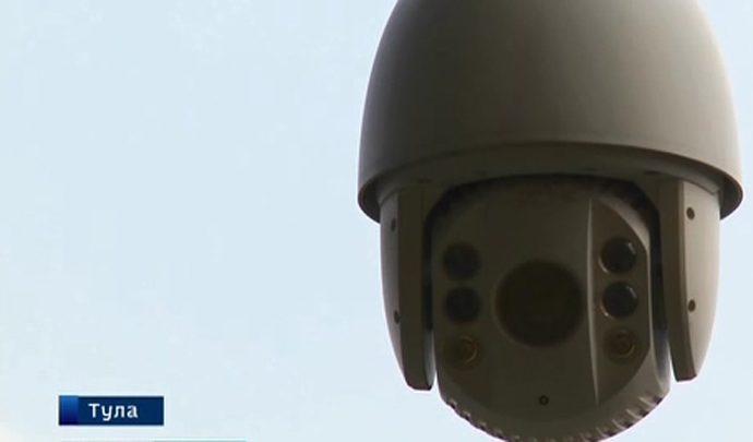 Тульские полицейские продемонстрировали возможности системы видеонаблюдения на стадионе «Арсенал»