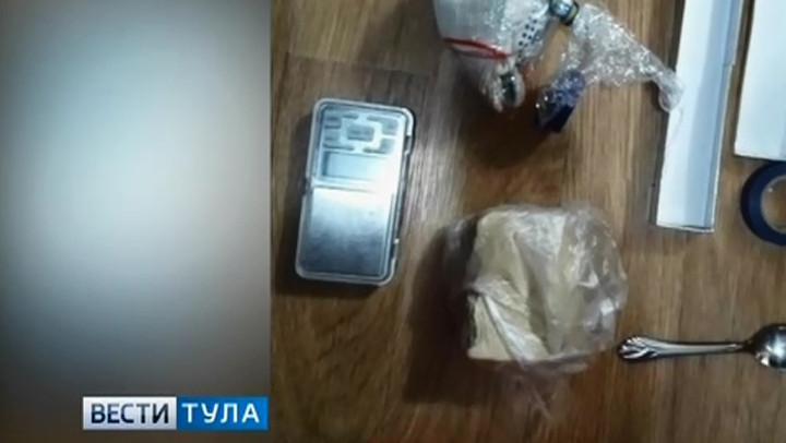 В Тульской области задержан мужчина, подозреваемый в перевозке крупной партии  героина