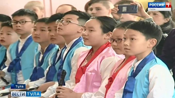 Школьники из Китая приехали в Тулу обменяться опытом