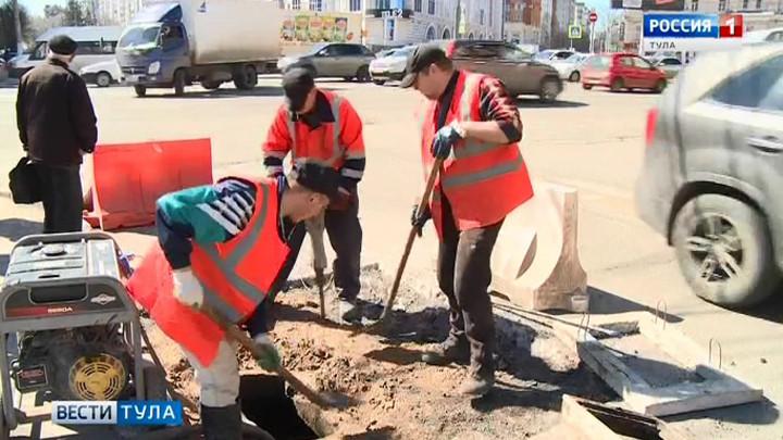 В областном центре приводят в порядок ливневую канализацию