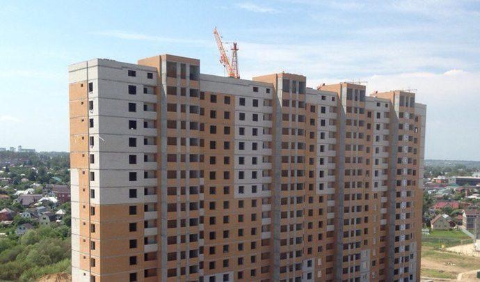 Строящиеся дома в одном из ЖК Тулы могут стать долгостроями