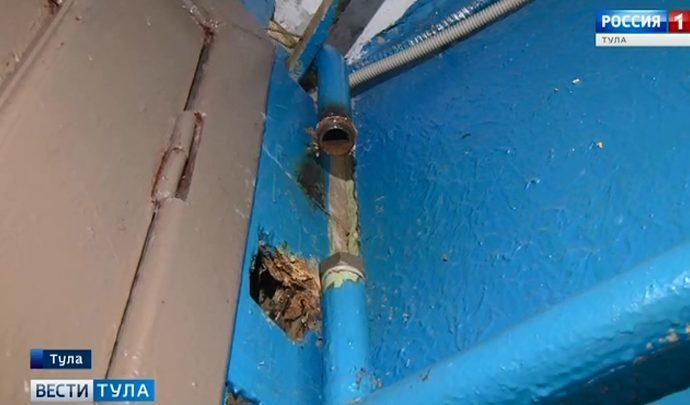 А у нас в квартире газ, а в вас? Почему дома туляков отключают от газоснабжения?