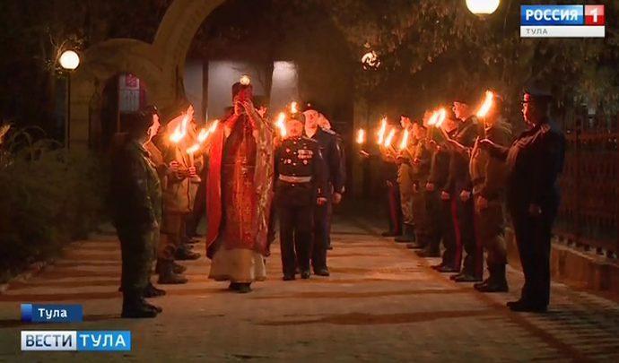 Во всех православных храмах Тулы прошли пасхальные службы