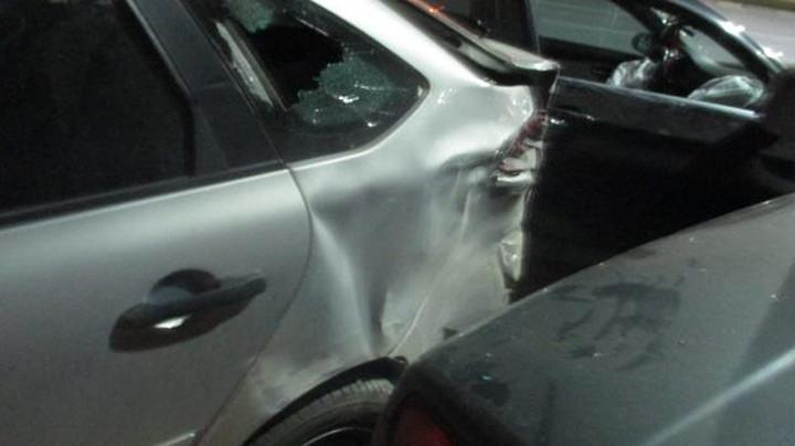 В Туле иномарка протаранила три автомобиля
