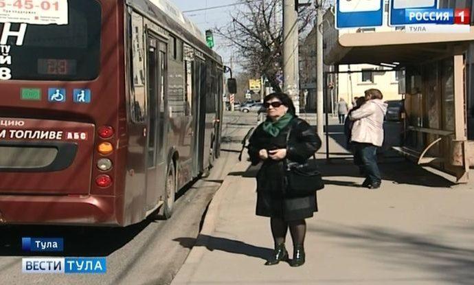 Водителям муниципальных автобусов в Туле увеличили зарплату