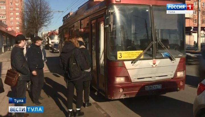 В автобусе маршрута №3 туляки платят дважды