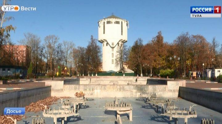 На водонапорной башне в Кировском сквере появится смотровая площадка