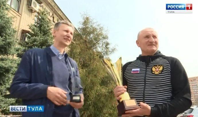 Тульские ветераны баскетбола взяли «серебро» чемпионата России