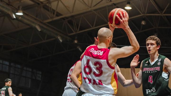 Баскетболисты «Арсенала» одержали победу над дублёрами краснодарского «Локомотива»