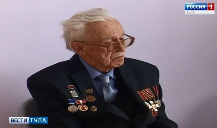 Краеведу Вячеславу Ботю исполнилось 90 лет