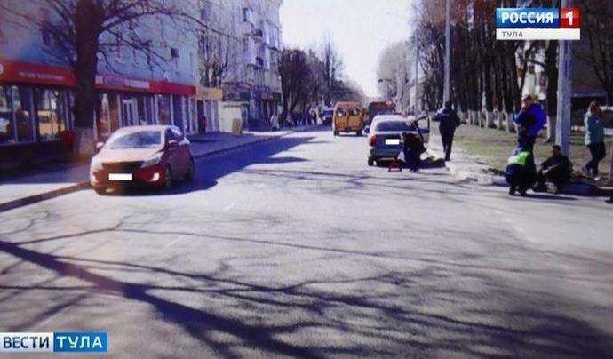 В Новомосковске пешеход угодил под колёса «Шанса»