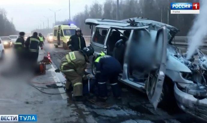 Страшное ДТП с микроавтобусом в Подмосковье: подробности