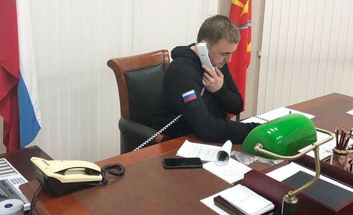 Алексей Дюмин выехал на место ДТП с автобусом, перевозившим детей