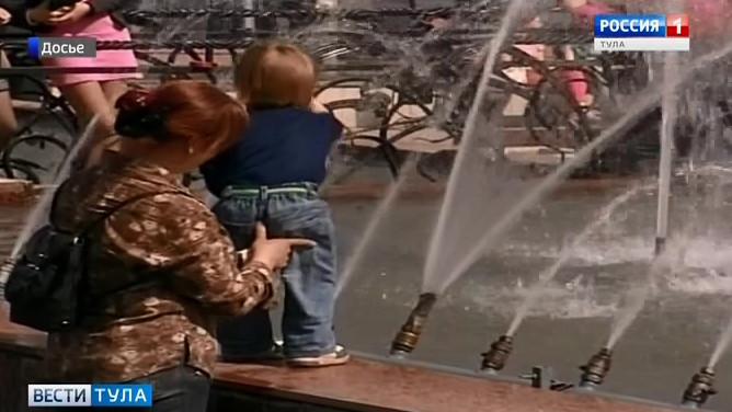 В Туле заработают фонтаны