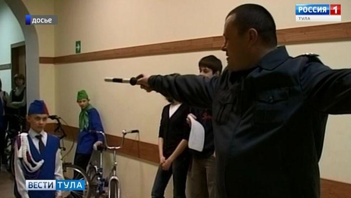 Юные ясногорские дорожные инспекторы представят Тульскую область на всероссийском этапе