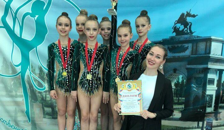 Тульские гимнастки привезли 5 медалей из Курской области