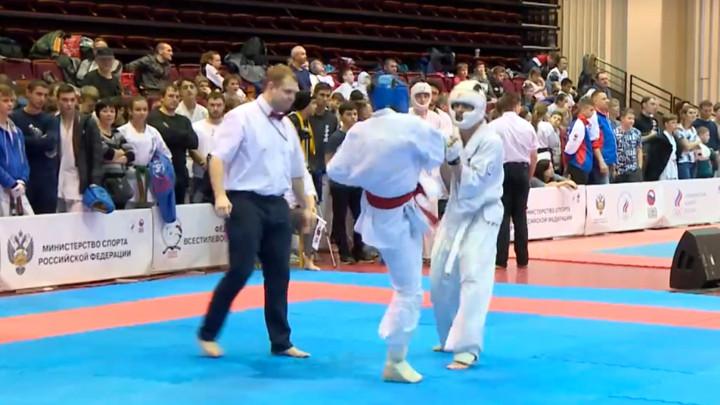 Тульские каратисты завоевали семь медалей в Орле