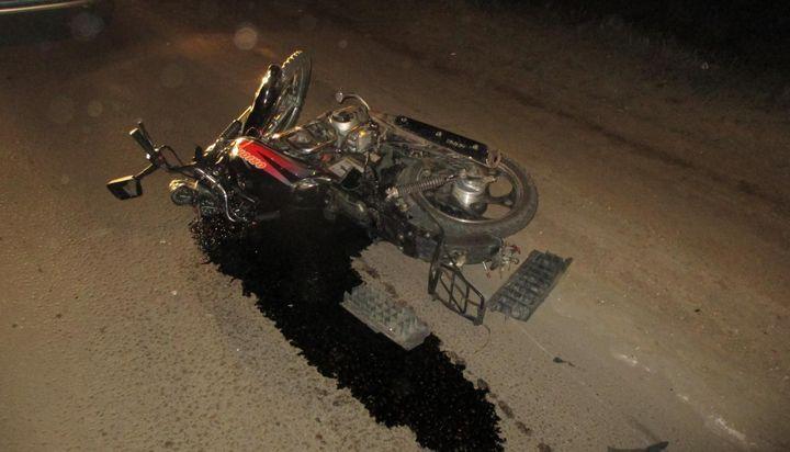 В Кимовске мотоциклист открыл аварийный сезон
