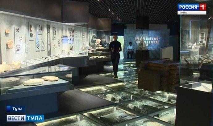 Гости из 15 регионов страны стали свидетелями открытия Музея археологии Тульского кремля