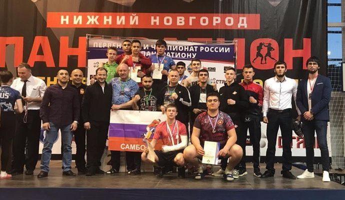 Тульские борцы взяли семь медалей в Нижнем Новгороде