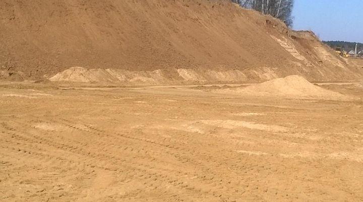 В Ясногорском районе собираются добывать песок