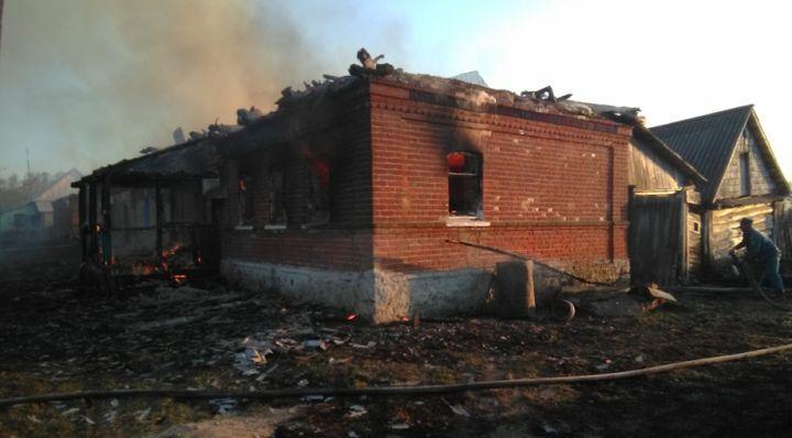 В Белёвском районе на пожаре пострадали два человека
