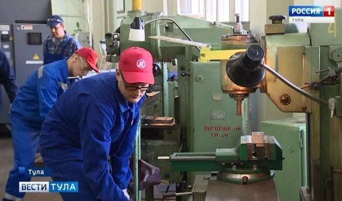 В Туле выявили лучших токарей и фрезеровщиков