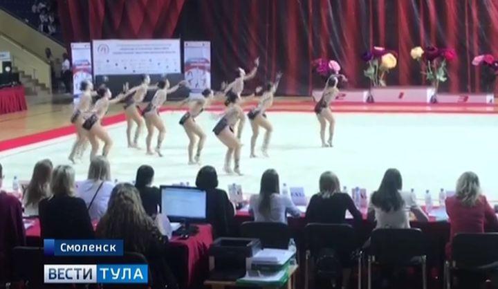 Тульский клуб эстетической гимнастики «Роксэт» стал чемпионом ЦФО