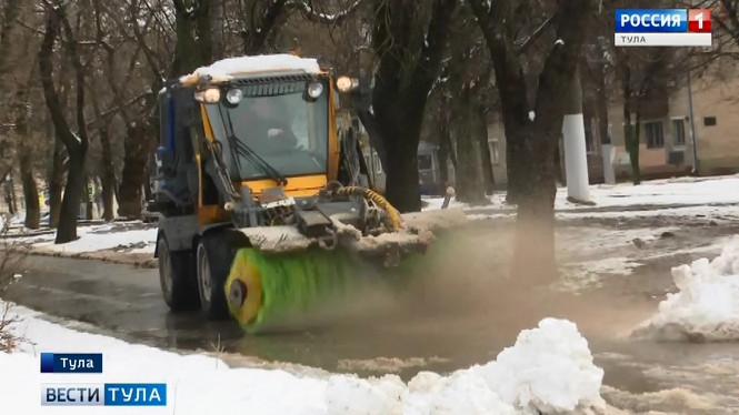 Как Тула справилась с сильным снегопадом?