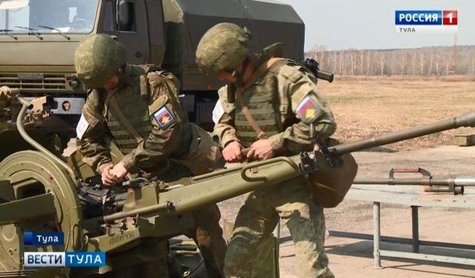 Тульские оружейники ВДВ отличились в ремонте гаубицы