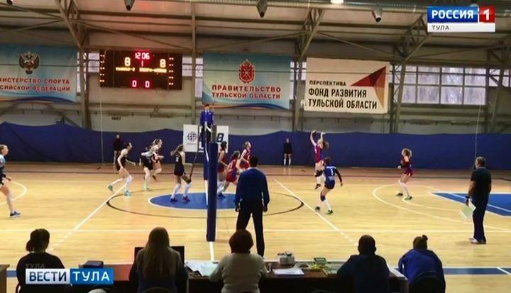 Волейболистки «Тулицы-2» добыли третью победу подряд