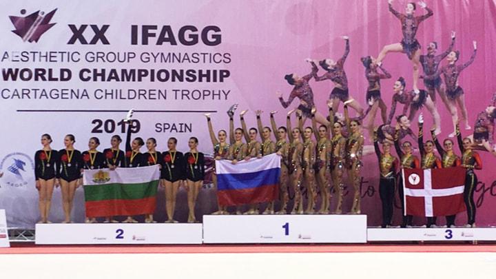 Тульские гимнастки завоевали «золото» в Испании