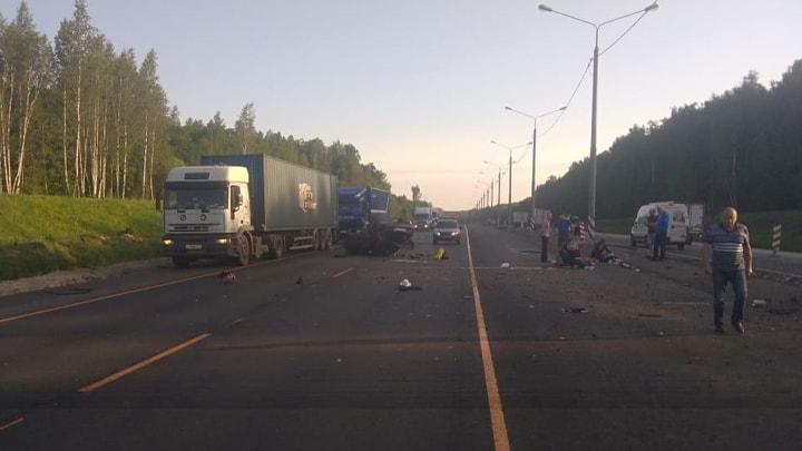 На трассе М-2 «Крым» в ДТП пострадал ребенок