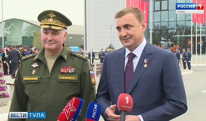 Алексей Дюмин: парк «Патриот» станет новой точкой притяжения
