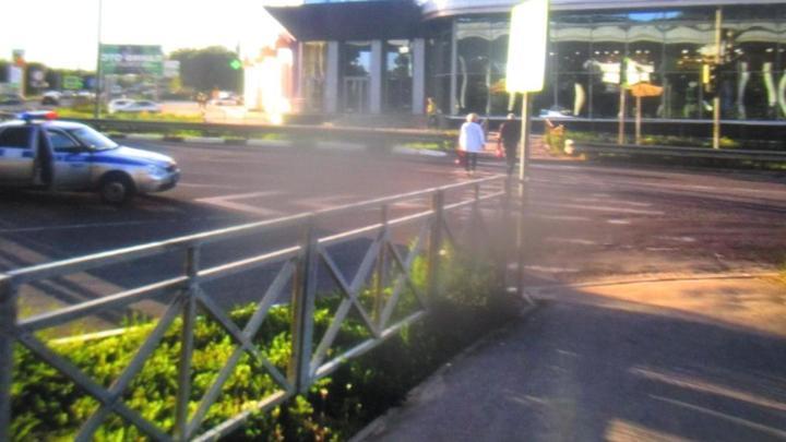 В Новомосковске под колёса  KIA Rio попала семилетняя девочка