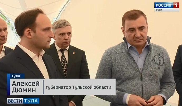 Алексей Дюмин проконтролировал строительство двух важных социальных объектов