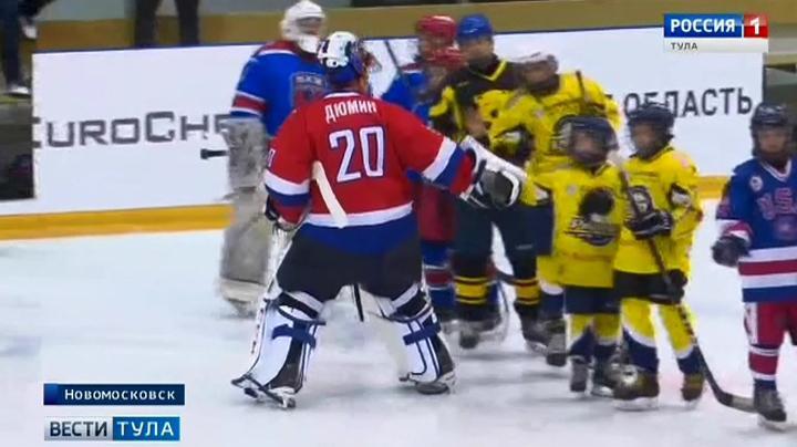 Алексей Дюмин встал на защиту ворот детской сборной мира