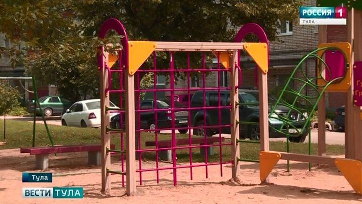 Состояние детских площадок в Туле будут проверять еженедельно