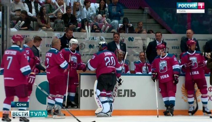 Алексей Дюмин принял участие в гала-матче Ночной Хоккейной Лиги