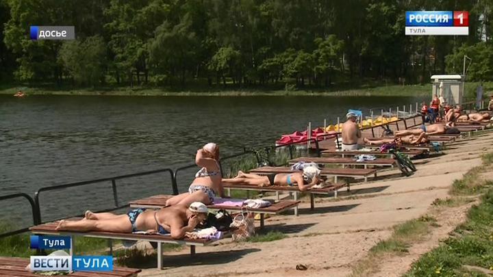 Когда в Туле откроют купальный сезон?