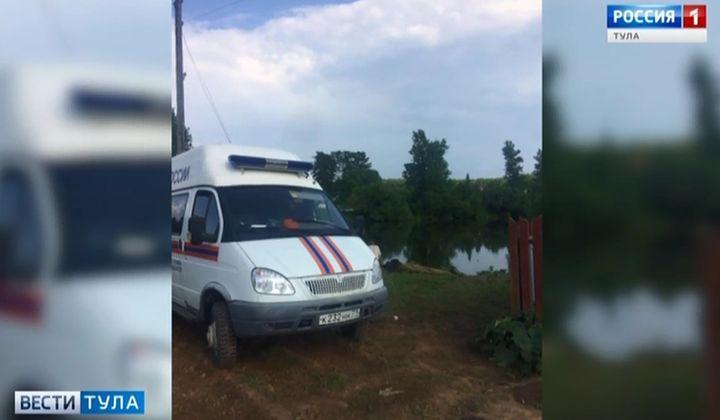 В пруду в Заокском районе утонул мужчина
